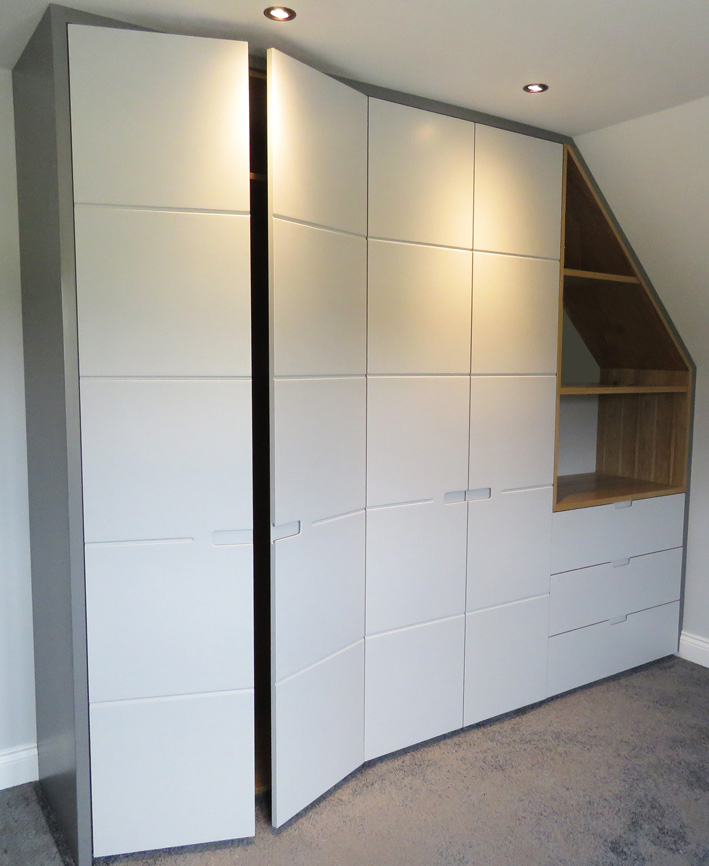 Bespoke doors for fitted furniture