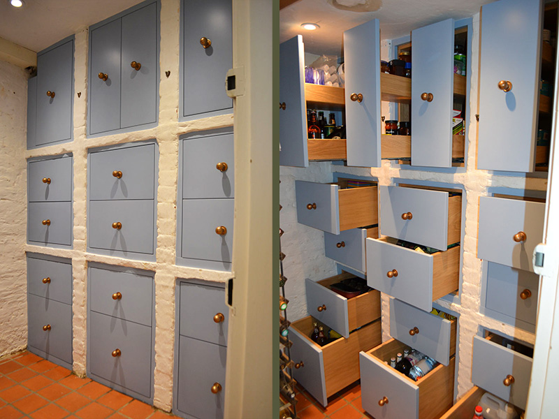 Bespoke fitted storage