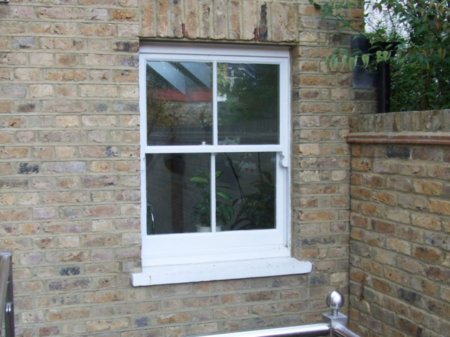 Made to measure sash windows