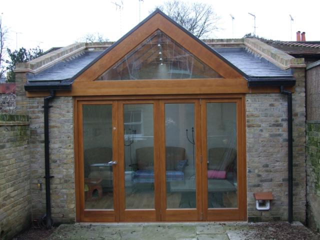 Bespoke oak conservatory