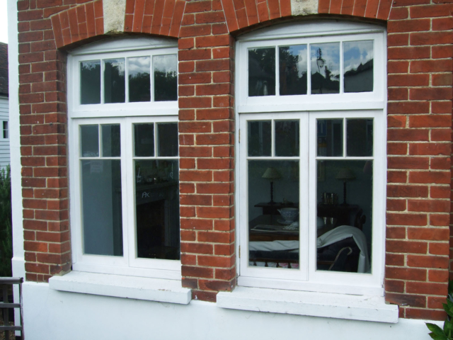 Bespoke victorian wooden windows