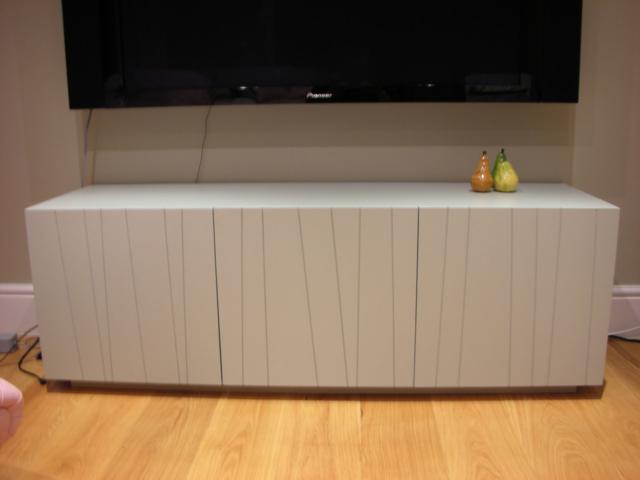 Custom-made media storage unit