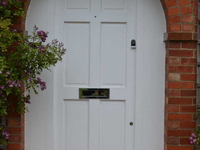 Custom made cottage front door