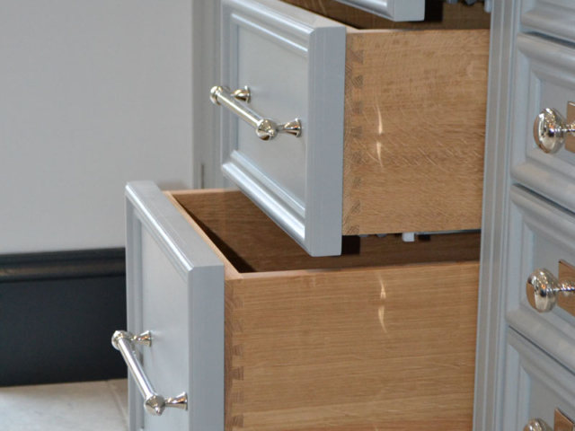 Bespoke kitchen drawers