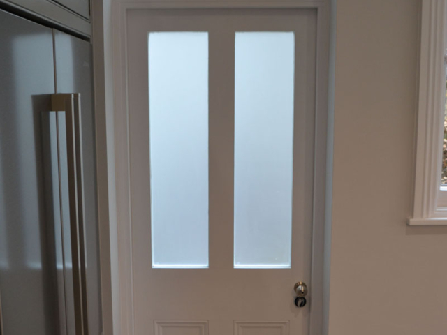 Made to measure back door