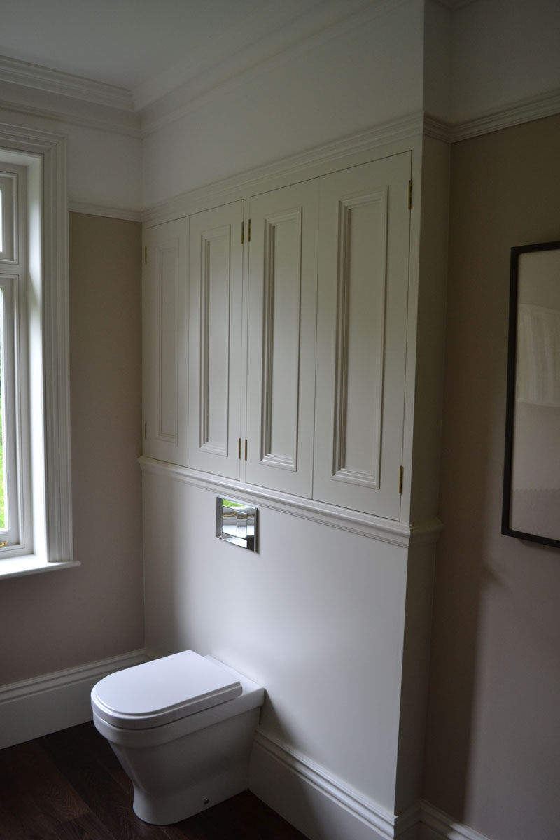 Bespoke fitted bathroom storage units