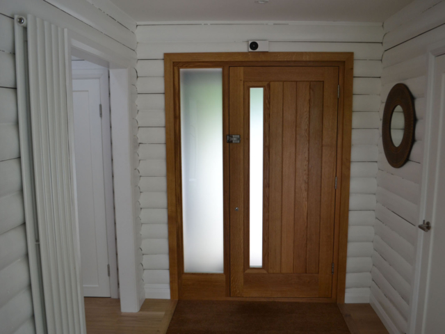 Made to measure oak front door