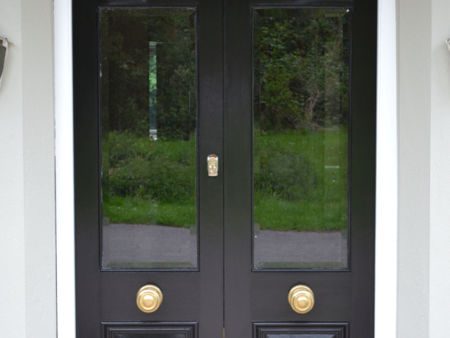 Made to measure Victorian front door