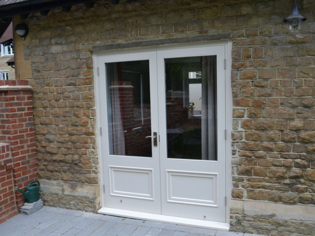 Bespoke fitted patio doors
