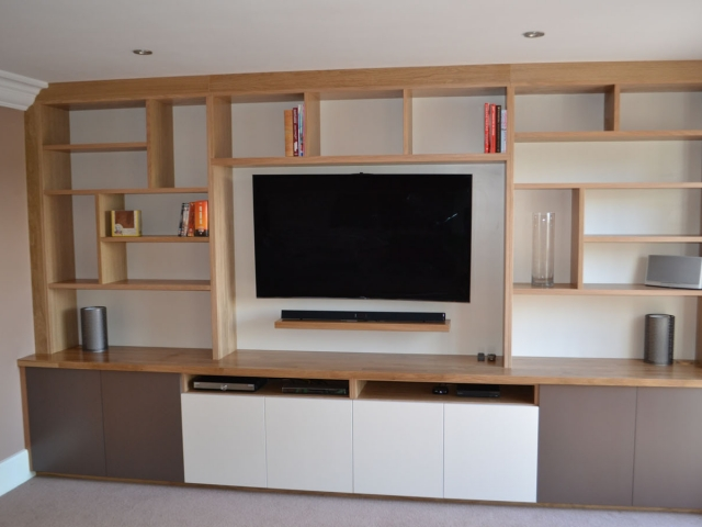 Bespoke fitted storage units