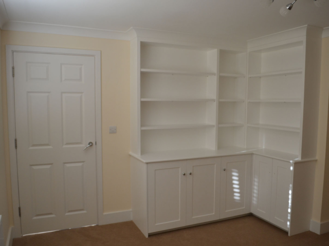 Bespoke made to measure storage units