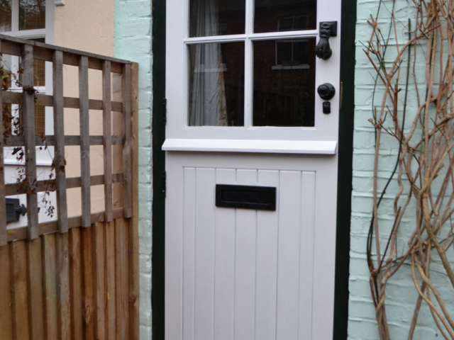 Made to measure cottage style front door