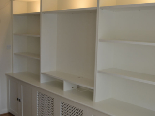 Bespoke made to measure fitted storage units
