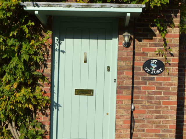 Bespoke cottage front door