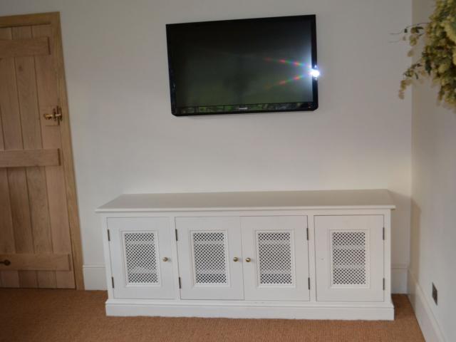 Custom-made media cabinets