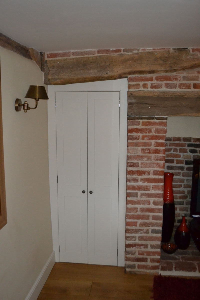 Bespoke fitted storage cupboards