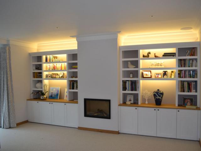 living room units lighting