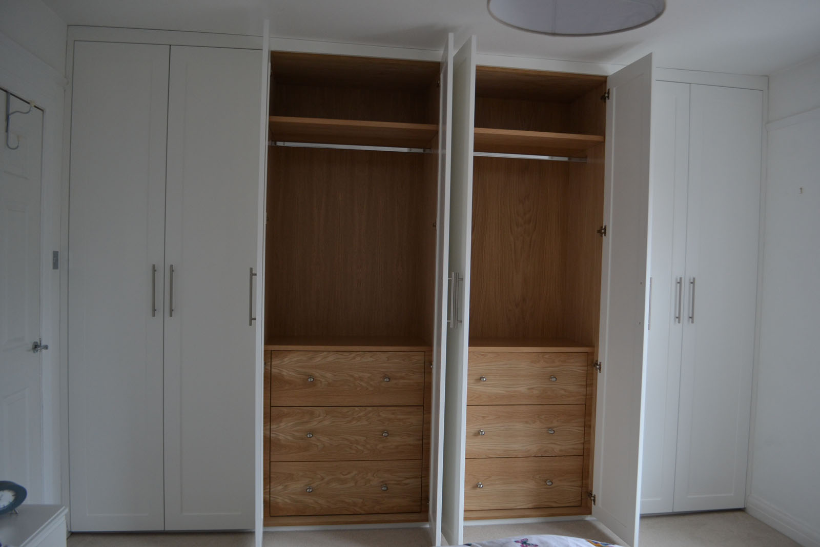 Traditional bespoke fitted wardrobes