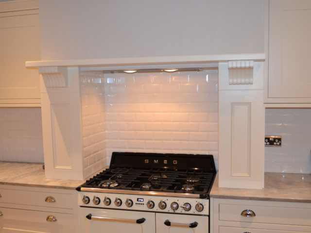 Custom made fitted kitchen