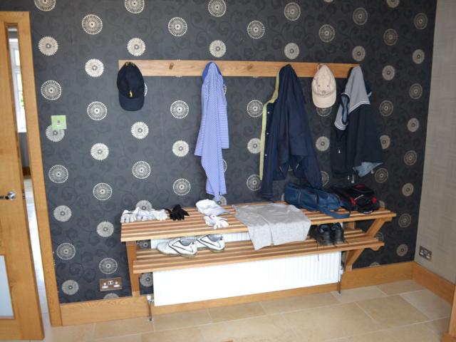Bespoke boot room furniture