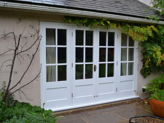 Bespoke orangery doors