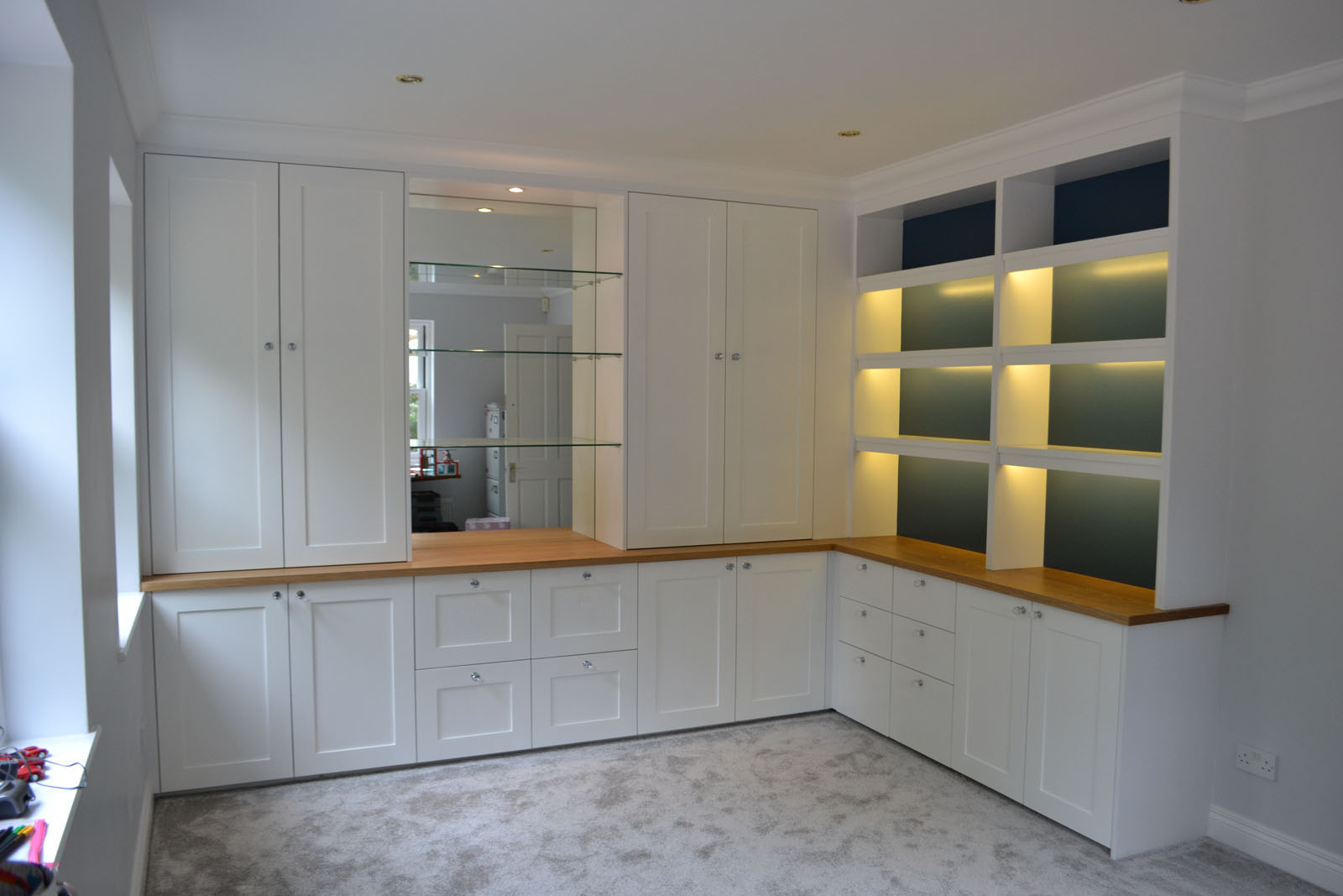 Bespoke fitted storage units