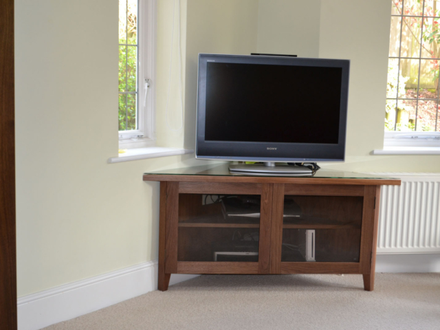 Free standing TV console