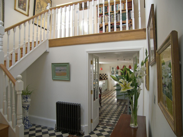Bespoke oak stairs