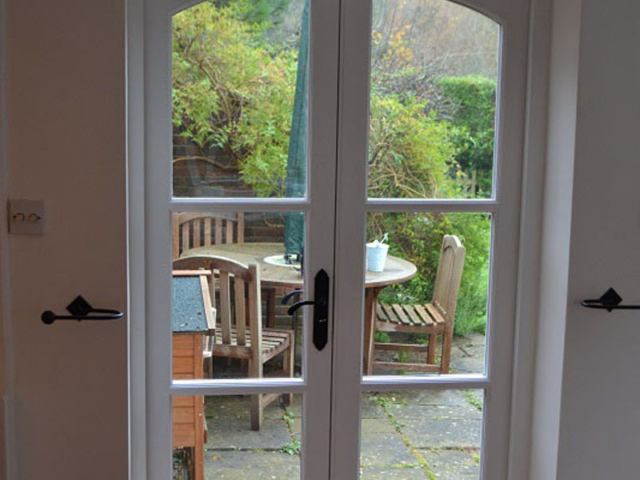 Bespoke external french doors