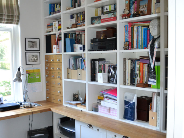 Bespoke fitted office furniture