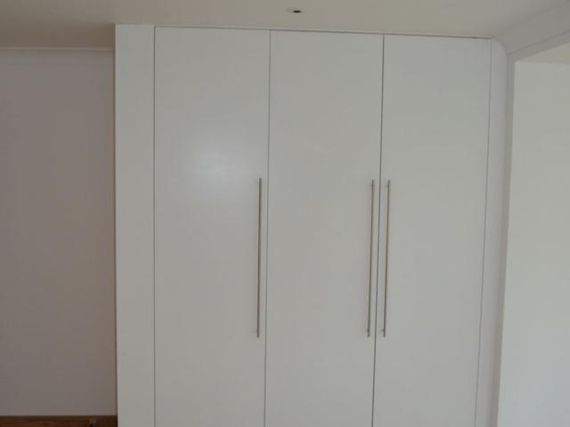 Custom made white wardrobe doors