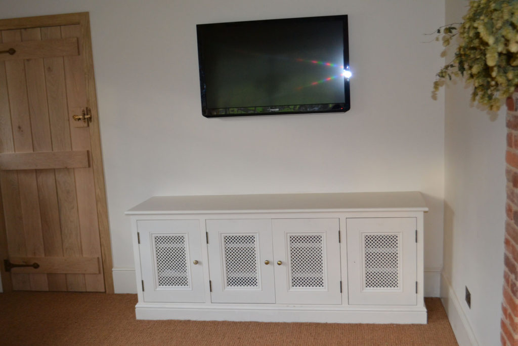 Bespoke fitted living room furniture