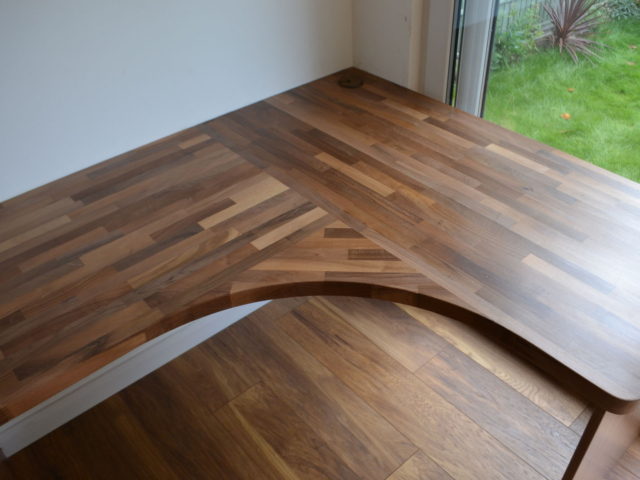 Custom-made fitted office furniture