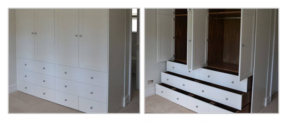 Fitted Wardrobes in Cobham