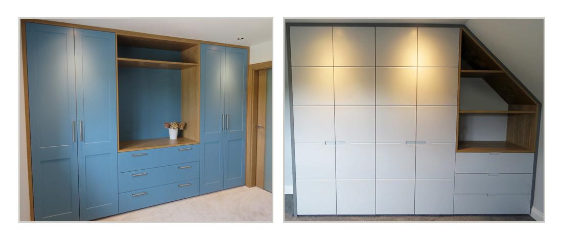 Bespoke built-in wardrobes
