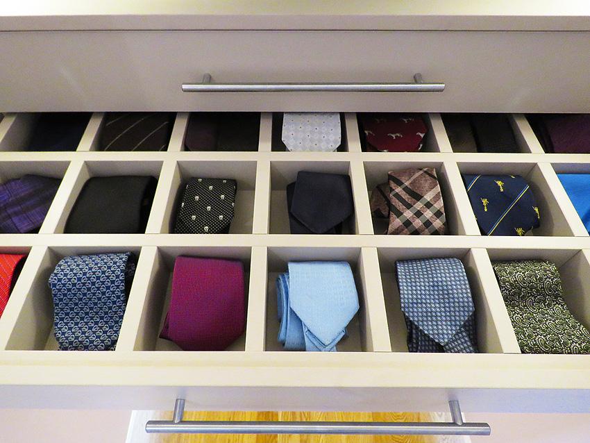 Custom-built wardrobe