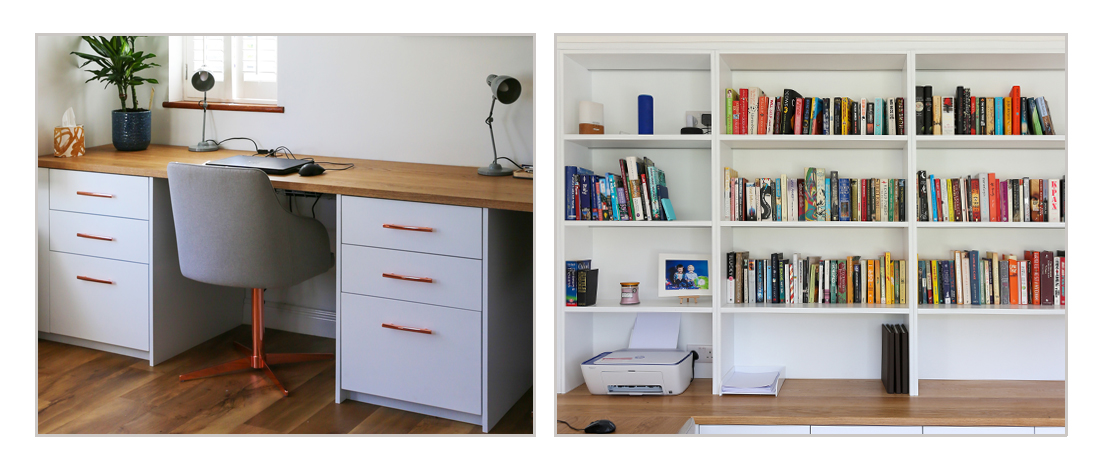 Bespoke contemporary home office